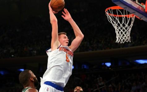 Latvian Knicks Player Dominates on the Court