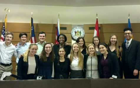 Wilmington Friends Mock Trial Team Wins States for the Second Time