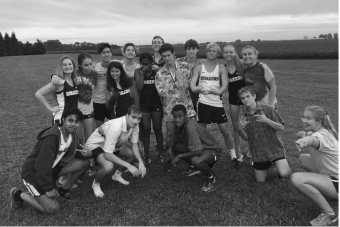 The WFS Cross Country team.