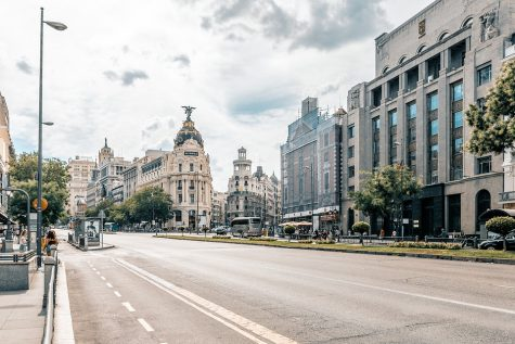 An overview of the streets of central Madrid, from which Pier-Paolo