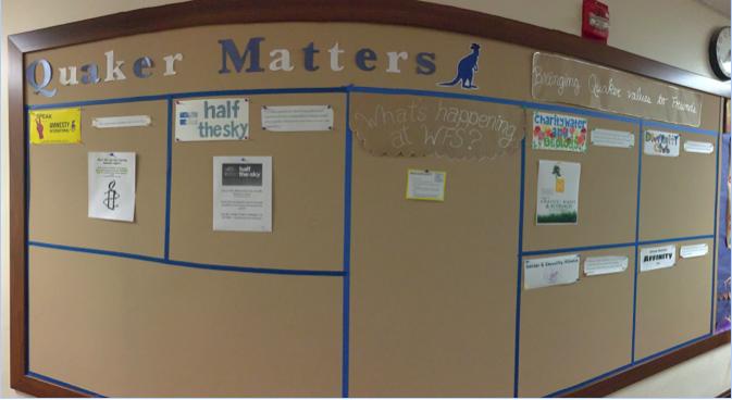 Find this new board in the Upper School math hallway.