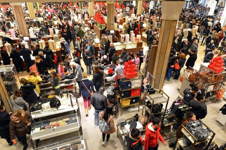 Crowded Stores on Black Friday