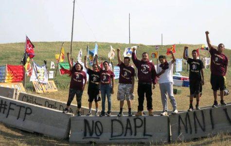 Water protectors in Standing Rock, North Dakota