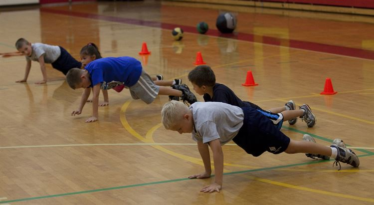 Staying Active at the WFS Lower School