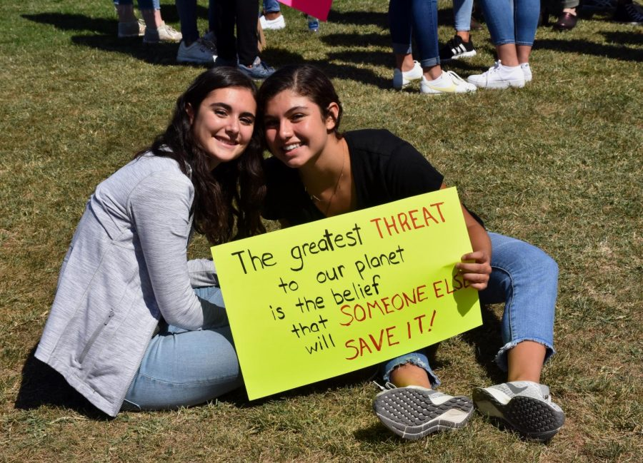 WFS Students Strike Against Climate Crisis