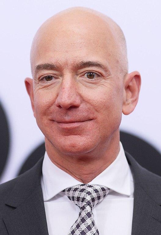 Jeff Bezos and his climate pledge